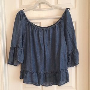 NWOT New York & Company Off-the-Shoulder Blouse